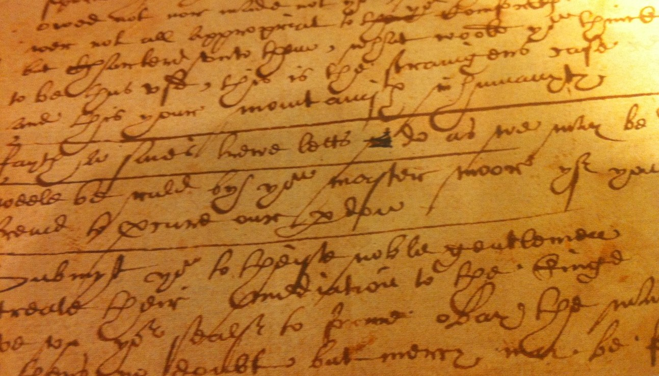 Shakespeare's handwriting?