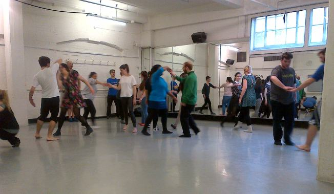 Workshop with Frantic Assembly