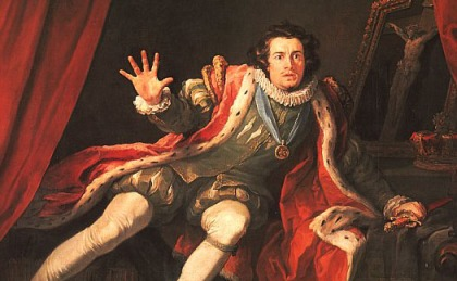 The 'superfluous' David Garrick as Richard III (Hogarth)