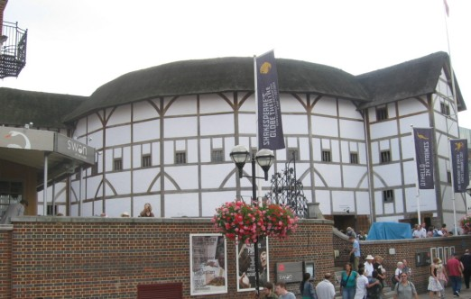 Not Shakespeare's Globe but very like it