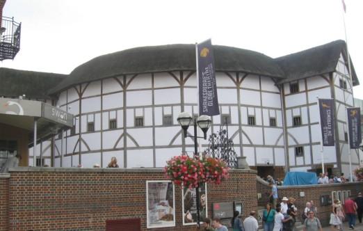 Not Shakespeare's Globe but very like it