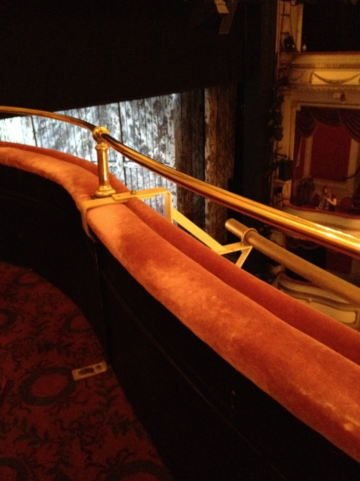 View from AA22, Noel Coward Theatre