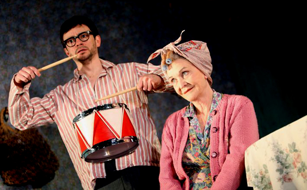 The Birthday Party, Sheila Hancock and Justin Salenger, 2008 production (guardian.co.uk)